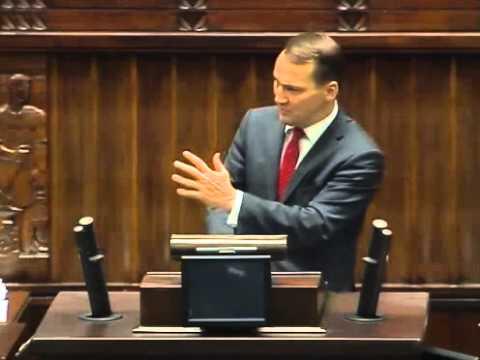[147/376] Radosław Sikorski: Przede wszystkim chciałbym powtórzyć do protokołu sejmowego to, ..