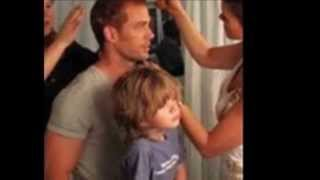 William Levy y su hijo Christopher (Tophy)