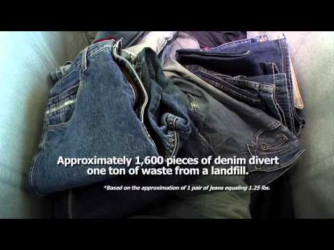 Denim Recycling Process Video