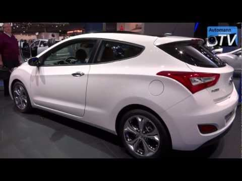 2013 Hyundai i30 3-door/Elantra GT - in Detail