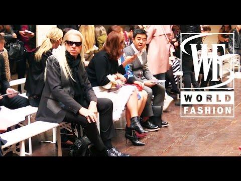 Front Row Cedric Charlier Spring-Summer 2015 Paris Fashion Week