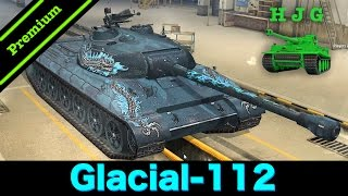 World of Tanks BLITZ - Preview - Tier VIII Premium Chinese Heavy Tank - The Glacial-112