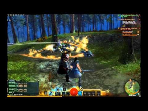 Guild Wars 2 Beta Gameplay - Norn Guardian Part 1 (HD)