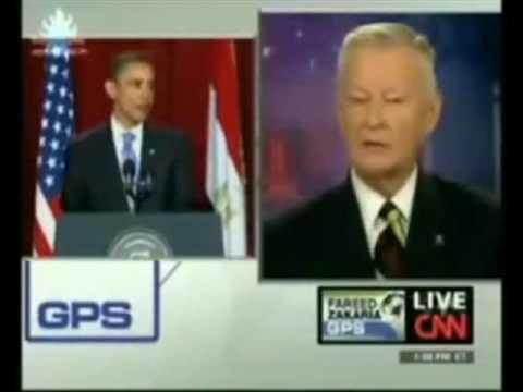 Brzezinski . Kissinger . Obama. And Bush. Reversed Speech. video