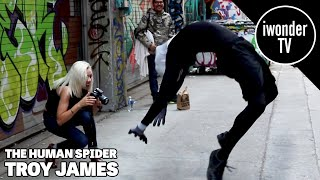 Contortionist Troy James - The Flexible Horror Movie Spider-Man