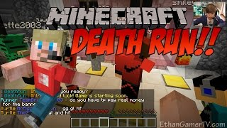 Ethan plays Minecraft: Deathrun (KID GAMING)