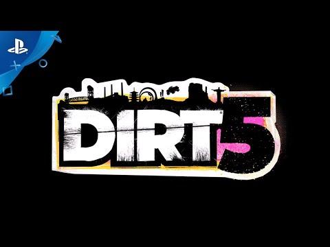 DIRT 5 - Announce Trailer   PS4, PS5