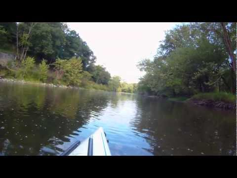 French Creek  kayak Utica to Franklin, PA Summer 2012