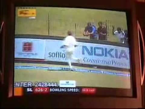 Mahela Jayawardene 374 vs South Africa 1st Test 2006