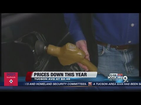 Gasoline prices dropping for the holidays