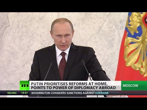 Putin: We won't let anyone achieve military dominance over Russia