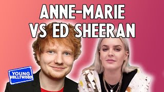 Why Did Singer Anne-Marie Punch Ed Sheeran?!