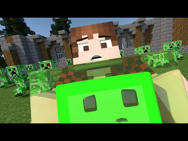 The Slimy Project! (Minecraft Animation)
