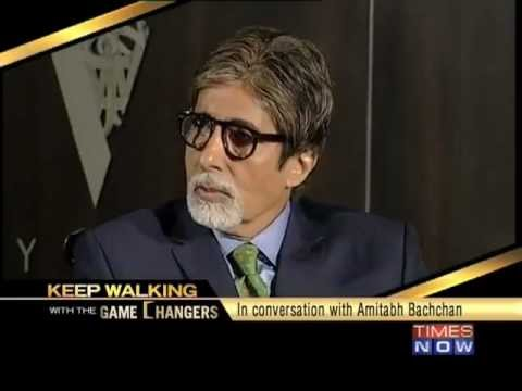 Keep Walking with the Game Changers - Amitabh Bachchan  (Full Chat)