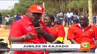 Citizen Extra: President Uhuru Kenyatta addressing Kajiado residents