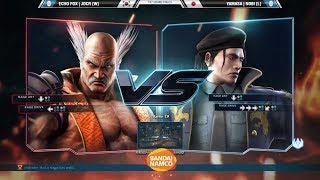 Tekken 7 - TGU 2017 - Grand Final - JDCR (Heihachi) Vs Nobi (Dragunov)