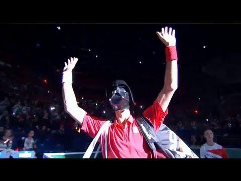 Novak Djokovic as Darth Vader