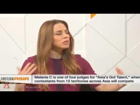 Melanie C interview about Asia's Got Talent