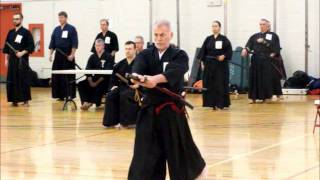 John, February 2012 Iaido Shinsa, NJIT