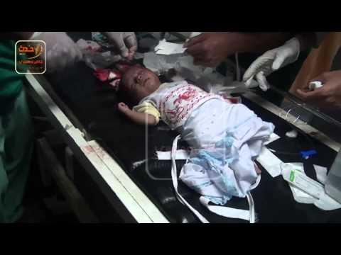 اصغر ارهابي في العالم...غزة The youngest terrorist in the world...Gaza 2014
