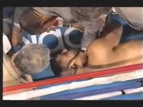 Самый жестокий нокаут в 1 раунде 1996 03 15 Дэвид Туа Джон Руис David Tua  John Ruiz