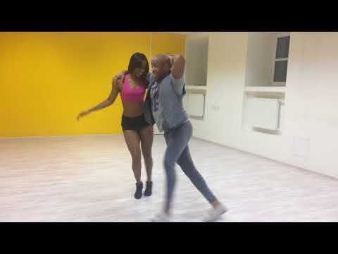 🌹Классно танцуют - сальса от Алайна и Янейси  - школа A4G