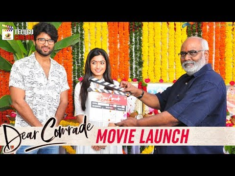Dear Comrade Movie Launch | Vijay Deverakonda | Rashmika Mandanna | Bharat Kamma | Telugu Cinema