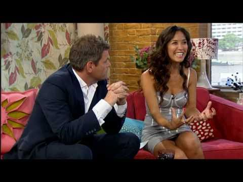 Myleene Klass - This Morning - Sexy Dress Accentuating Her Breasts - 30-Jul-10