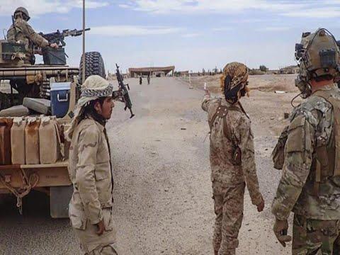 Асад окружил американскую базу в Сирии