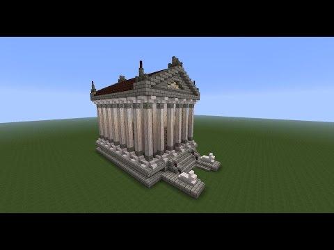 Relaxation/ASMR - Soft Spoken Minecraft Tutorial: Greek Temple