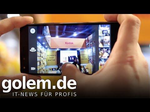 CES 2015: Kodak IM5 - Hands on