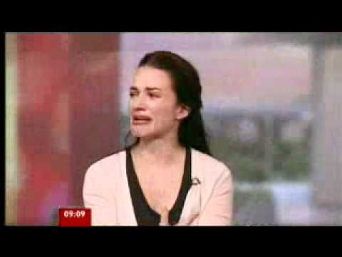 Kristin Davis describes her visit to Kenyan refugee camp (BBC News)