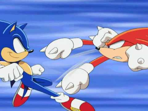 Sonic vs Knuckles (RAW)