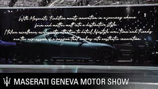 Maserati at the 2019 Geneva International Motor Show