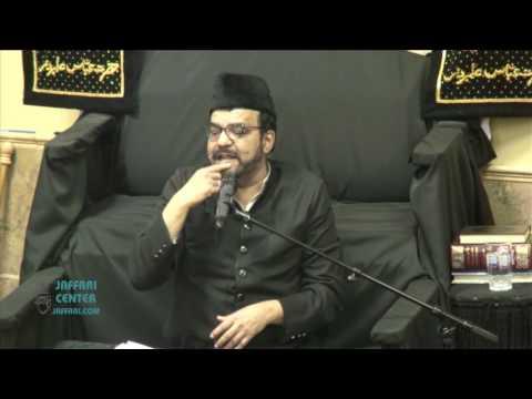 Maulana Abid Bilgrami 3rd Safar 1438 2016