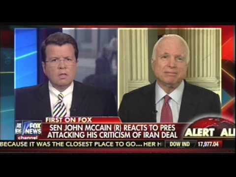 John McCain thinks John Kerry is a liar and delusional