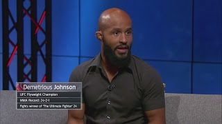 Demetrious Johnson called the first day of TUF