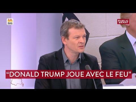 """Donald Trump """"joue avec le feu"""" estime Guillaume Balas"""