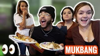 THANKSGIVING FAMILY MUKBANG: BIG NEWS!!! (Ft. Lil Jerz & Yung Reece)