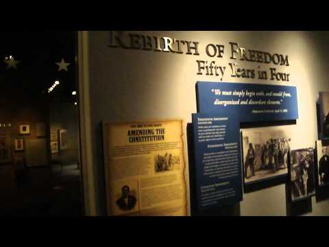 Smithsonian Institution National Civil War Museum Lincoln exhibit Harrisburg PA