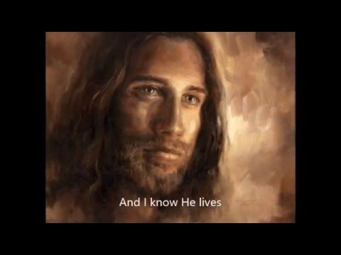 I Know He Lives- by April Meservy