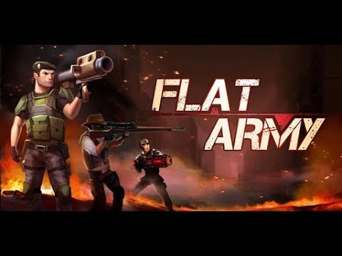 FLAT ARMY PVP!! I'M THE FLAT ARMY GOD!! NEW MOBILE GAME