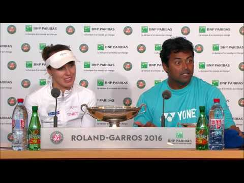 Martina Hingis and Leander Paes seal career grand slams at French Open