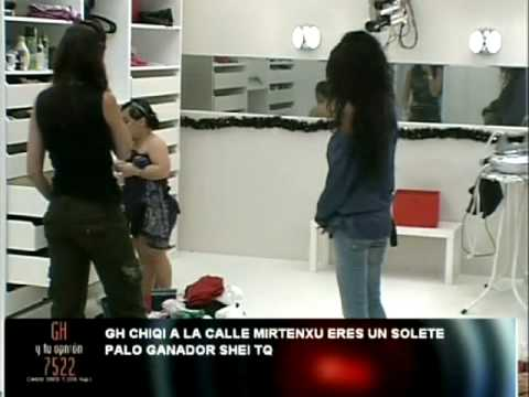 24H House Fighter: Liz VS Chiqui! No me toques los cajones! 1de2