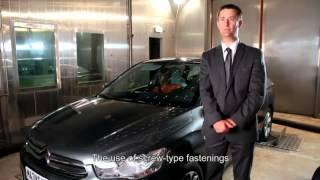 Официальные видео дорожных испытаний Citroen C-Elysee