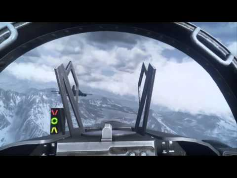 Battlefield 3 - F18 Fighter Jet - GoPro