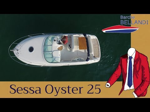 Sessa Oyster 25 [Test in Acqua]