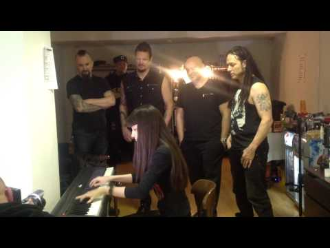 Meet & Greet with DISTURBED. Fragment of Legion of Monsters (Diana Vasilyan cover)