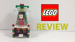 LEGO LIMITED EDITION HOLIDAY SNOW GLOBE REVIEW!