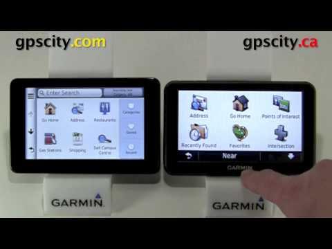 Garmin Nuvi 3590 Compared To The Nuvi 50 With GPS City ...